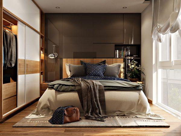 اتاق خواب مجلل کوچک
