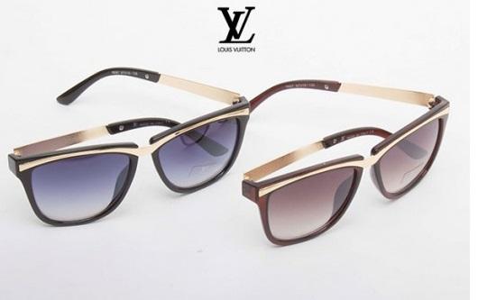 عینک زنانه دسته فلزی لویی ویتون