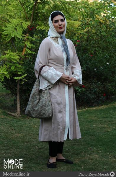 روسری مناسب صورتت را پیدا کن/ سبزهها، سفیدها , مدل لباس