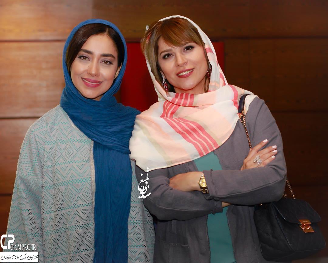 بهاره کیان افشار و سحر دولتشاهی در فرش قرمز و اکران فیلم بارکد