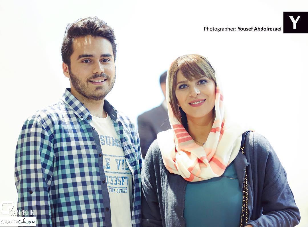 سحر دولتشاهی در فرش قرمز و اکران فیلم بارکد