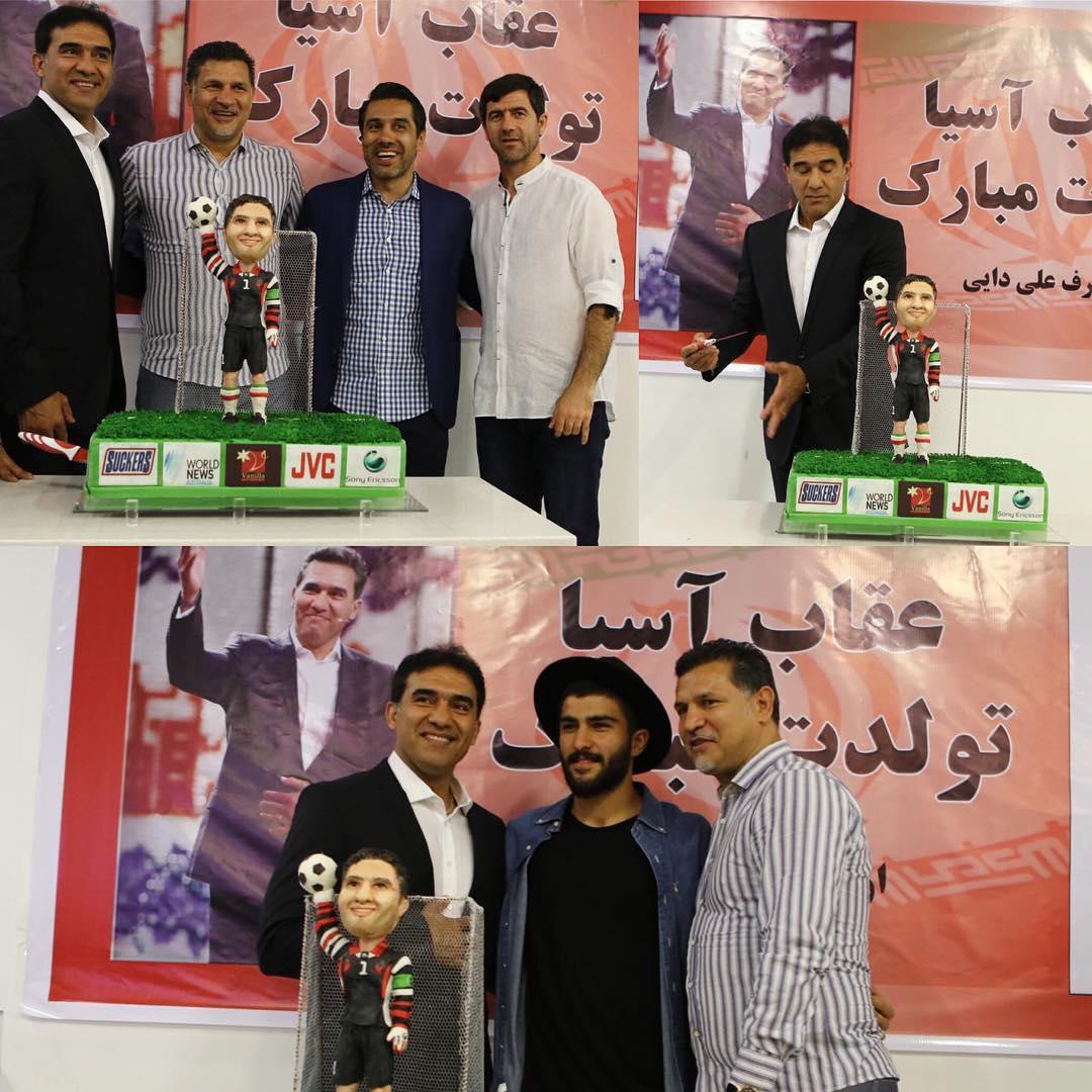 جشن تولد احمد رضا عابدزاده