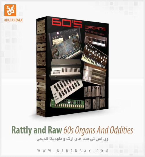 دانلود وی اس تی ارگ و ملودیکا Rattly And Raw 60s Organs And Oddities