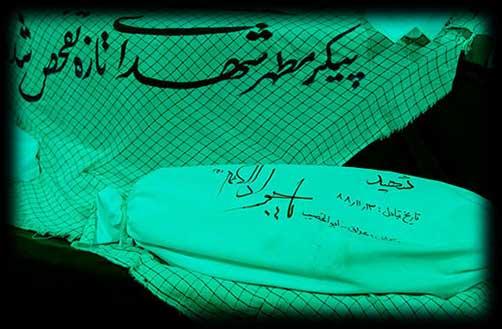 خاطرات تفحص شهدا - یاد و خاطره شهدا - مطالب شهید و شهادت