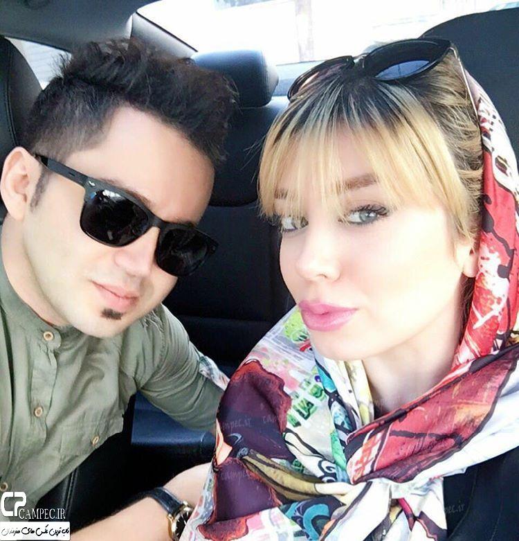 عکس شهنام شهابی با همسرش