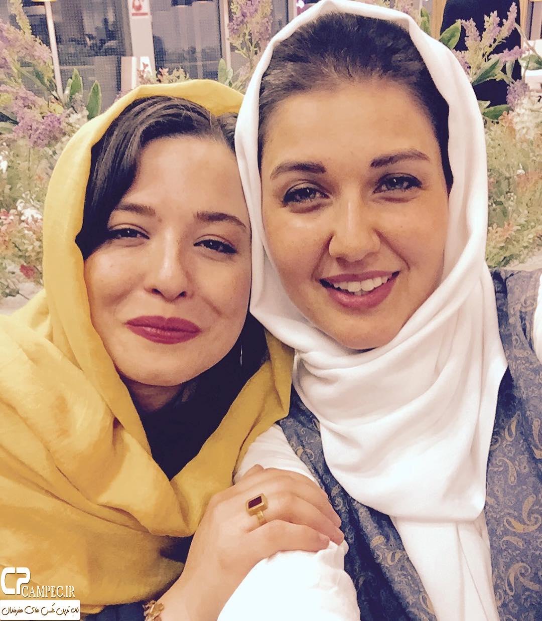 عکس شخصی گلوریا هاردی با مهراوه شریفی نیا