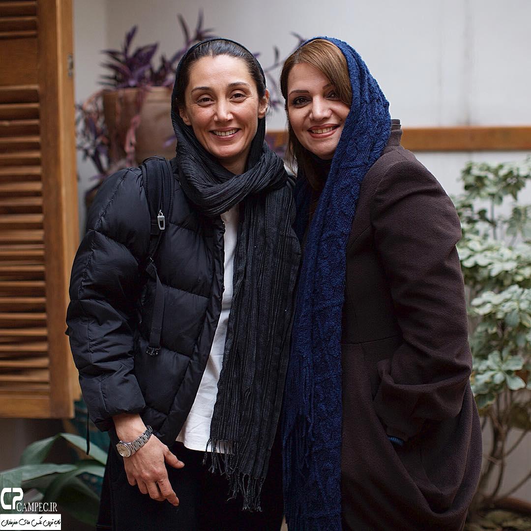الهام پاوه نژاد و هدیه تهرانی