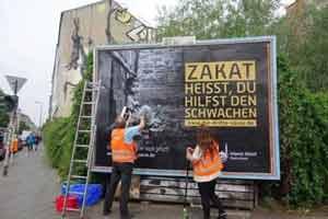 اقدام جالب آلمانی ها برای تبلیغ زکات , بین الملل