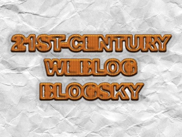 وبلاگ قرن بیست و یکم