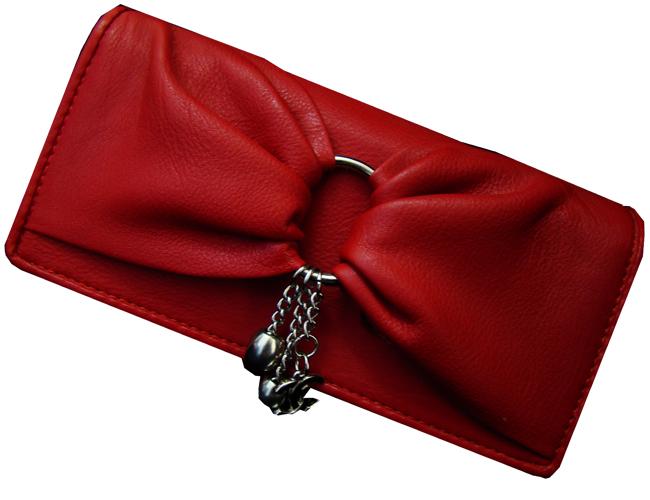 مدل کیف چرم زنانه قرمز