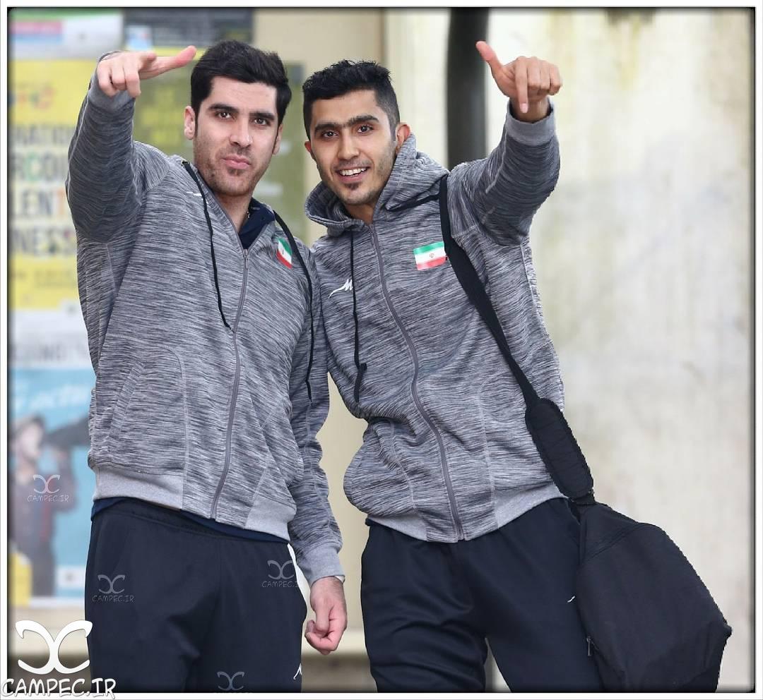 شهرام محمودی و مجتبی میرزاجانپور