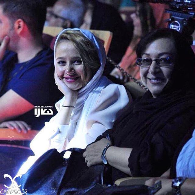 الناز حبیبی و مریم سعادت در کنسرت میثم ابراهیمی