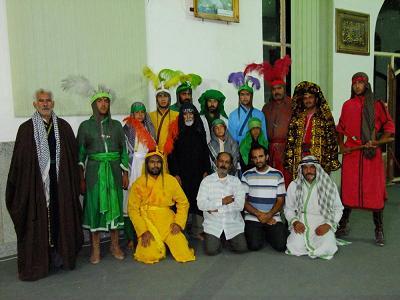 هیئت تعزیه خوانی حضرت ابوالفضل(ع) روستای خسروانی