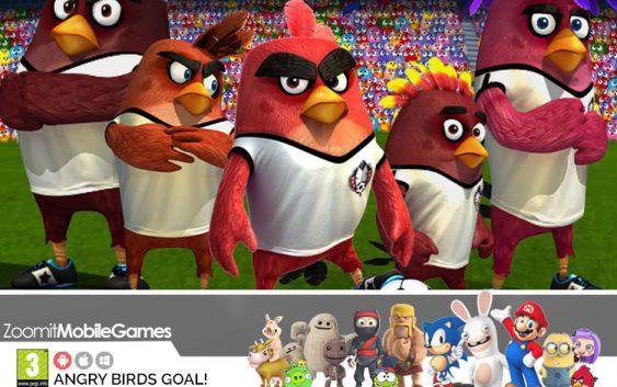 پرندگان خشمگین فوتبالیست میشوند , بازی