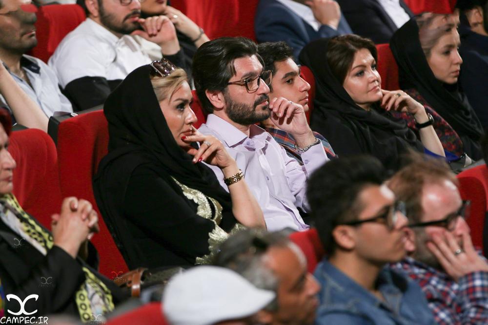 امیر حسین مدرس و همسرش در کنسرت علیرضا قربانی