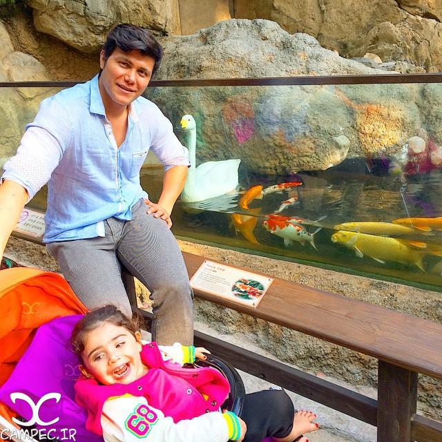 مهدی مهدوی و دخترش