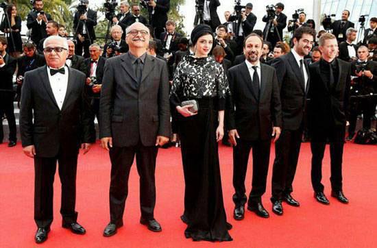 ترانه علیدوستی و شهاب حسینی در جشنواره کن 2016