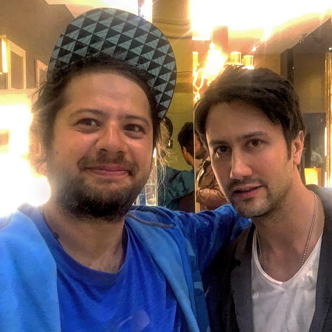 علی صادقی و شاهرخ استخری