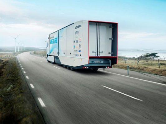رونمایی از کامیون کم مصرف ولوو 2016 , اتومبیل ها