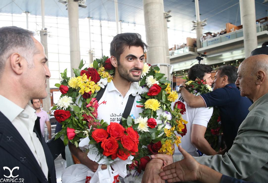 بازگشت تیم ملی والیبال از مسابقات انتخابی المپیک