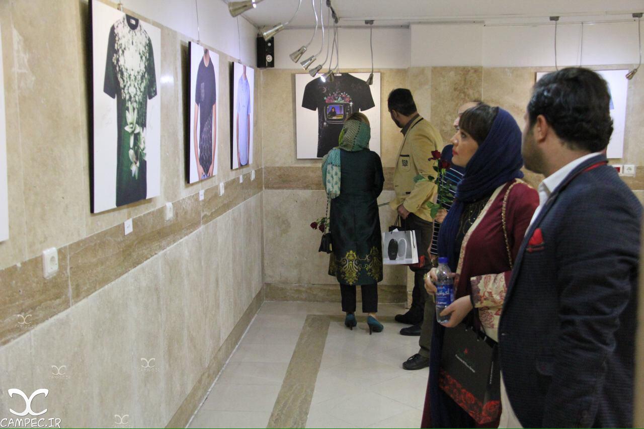 لیلا برخورداری در نمایشگاه حجم گرایی در مد