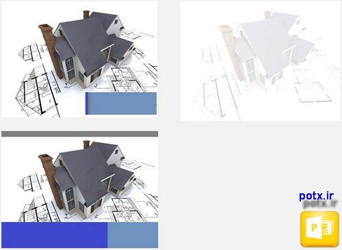 پاورپوینت نقشه کشی ساختمان