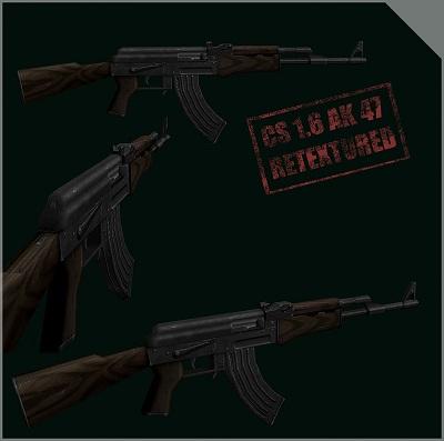 دانلود اسلحه ak-47برای کانتر استریک