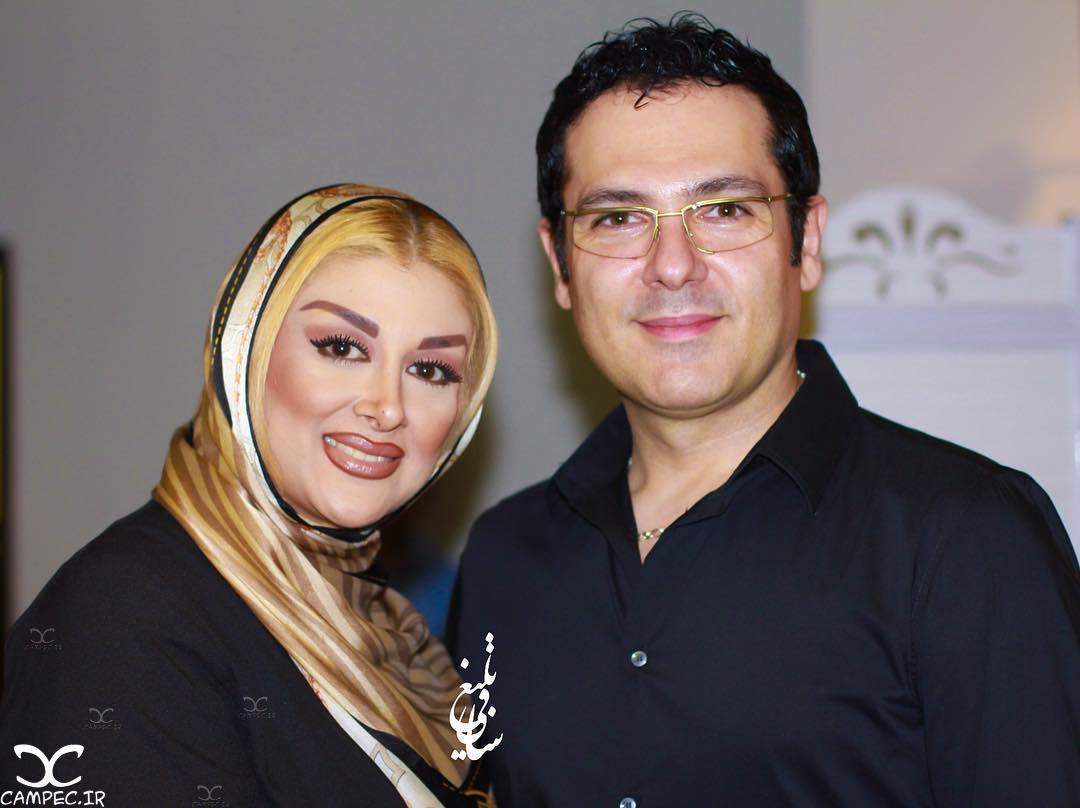 عکسهای جدید بازیگران با همسرانشان خرداد 95