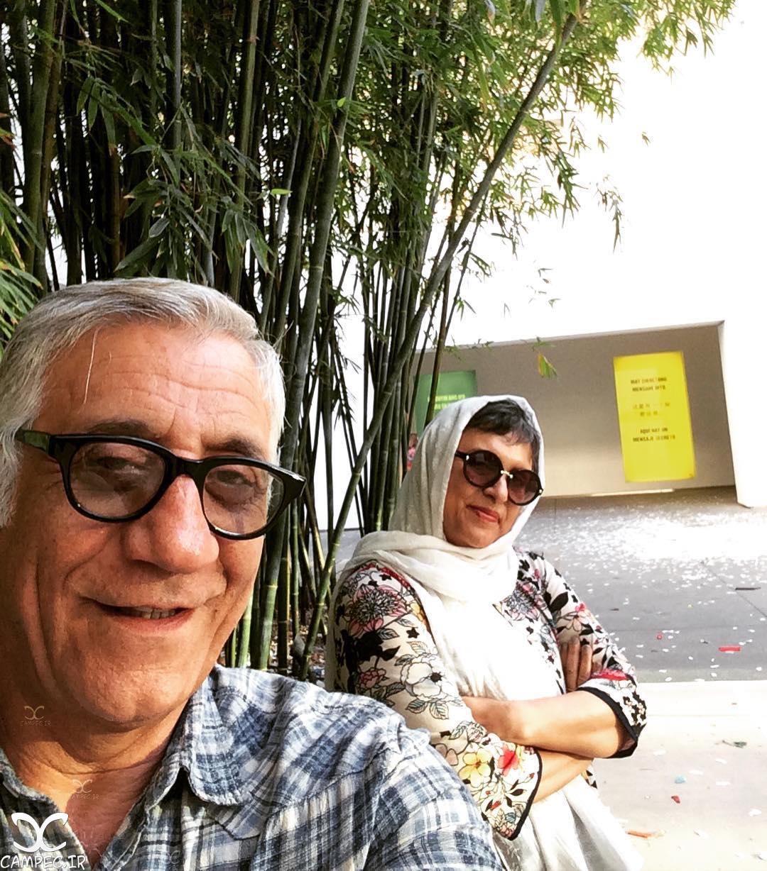 زوج هنرمند مسعود رایگان و رویا تیموریان