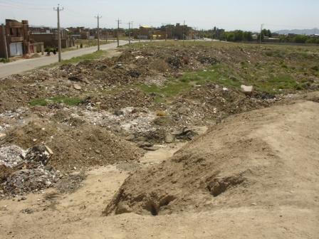 وضعیت تپه باستانی
