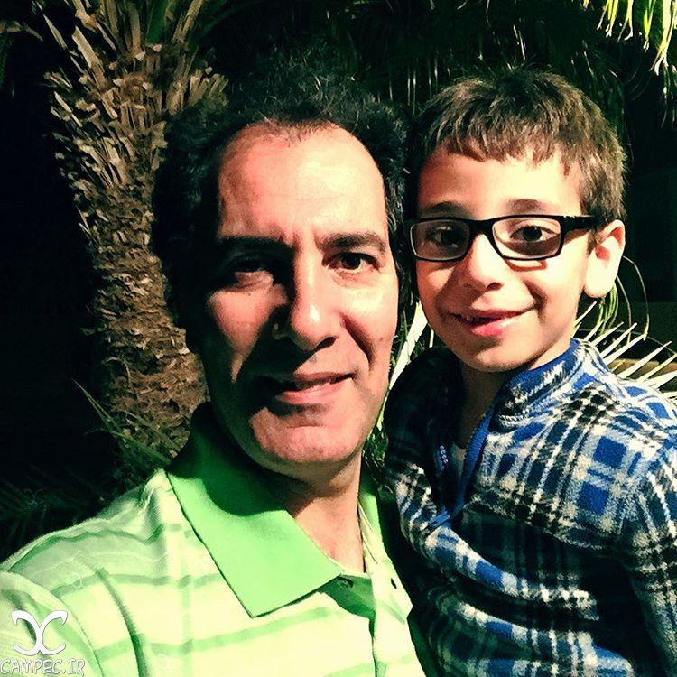 بهنام تشکر و پسرش