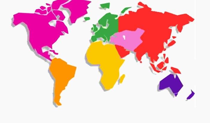نقشه قاره کهن
