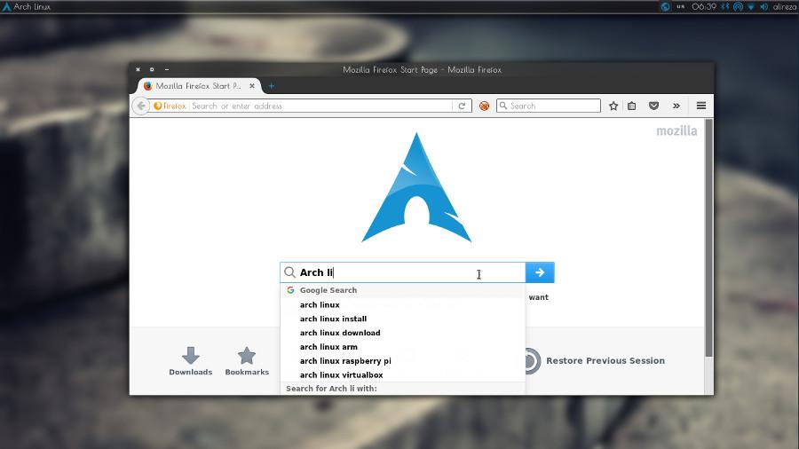 چگونه لوگوی توزیع دلخواهمون رو به صفحه خانه فایرفاکس اضافه کنیم