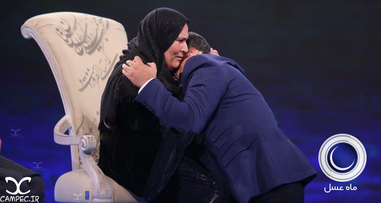 امید و مادرش در برنامه ماه عسل