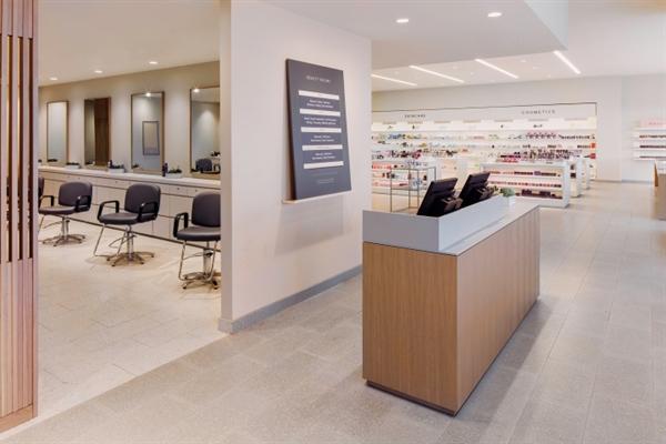 طراحی فروشگاه عرضه لوازم آرایشی بهداشتی