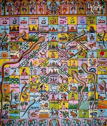 بازی مار و پله در کدام کشور به وجود آمد؟