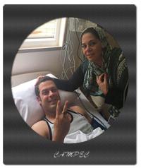 پژمان بازغي از بيمارستان مرخص شد+جزییات و عکس در بیمارستان