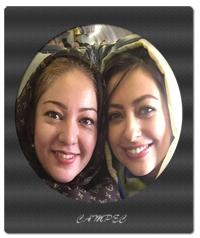 عکسهای رزیتا غفاری و نفیسه روشن در سفر به کرمان