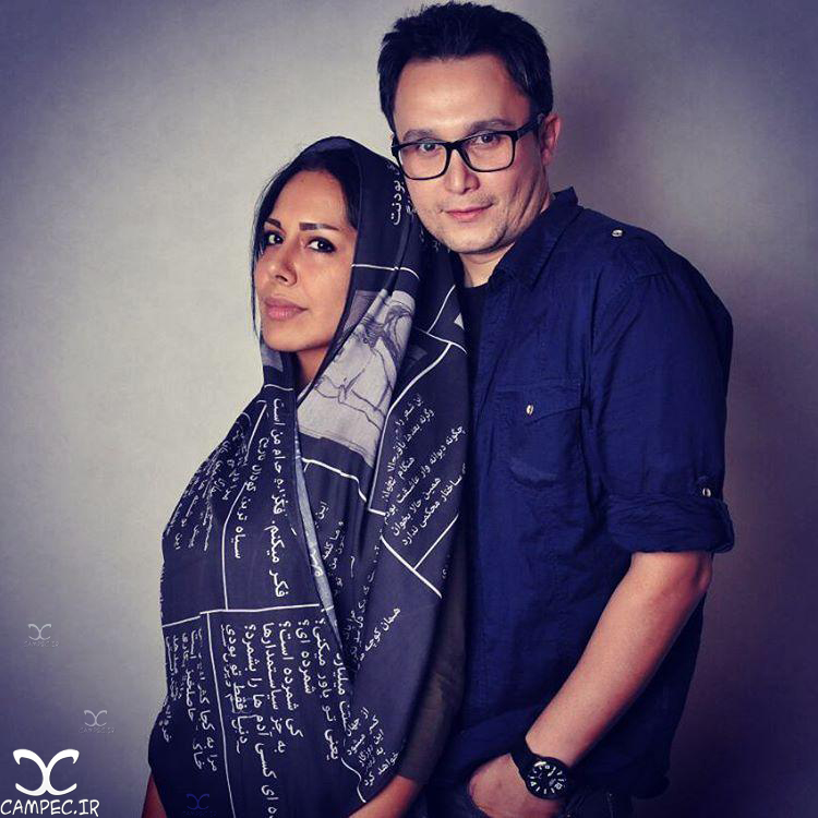 کیوان محمود نژاد و همسرش آیلین کیخایی