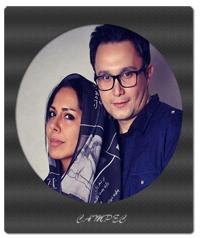 عکسهای آتلیه ای کیوان محمود نژاد و همسرش آیلین کیخایی