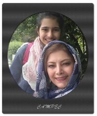 بیوگرافی و عکسهای لادن طباطبایی با فرزندانش