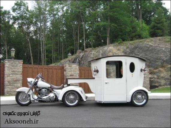 عکسهای دیدنی از یک ماشین عروسی عجیب
