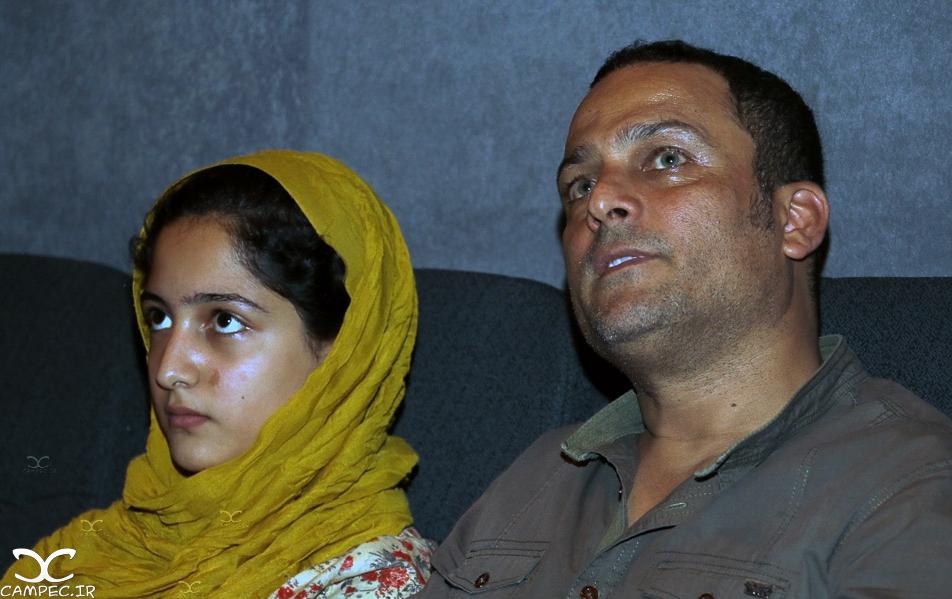 حسین یاری و دخترش سارا