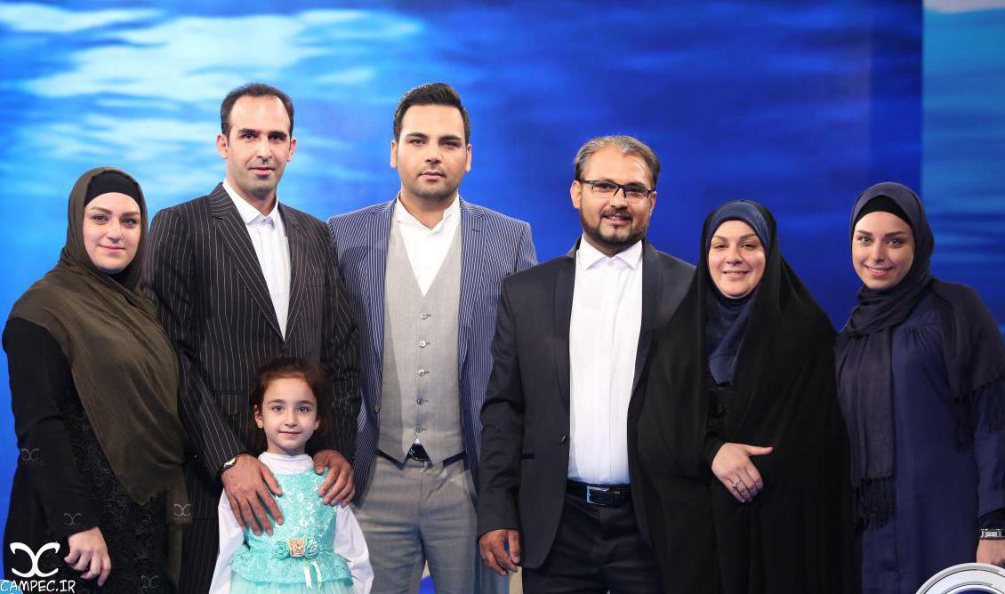 محمد و همسرش خانم کامکار در برنامه ماه عسل
