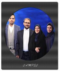 محمد و خانم معلم فداکار در برنامه ماه عسل