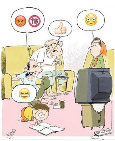 کاهش زمان گفتگو میان اعضای خانواده به 17 دقیقه در شبانه روز!
