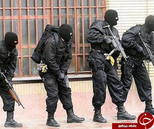 دستگیری قاچاقچی سلاح و مواد مخدر در روستای امیرحاجیلو