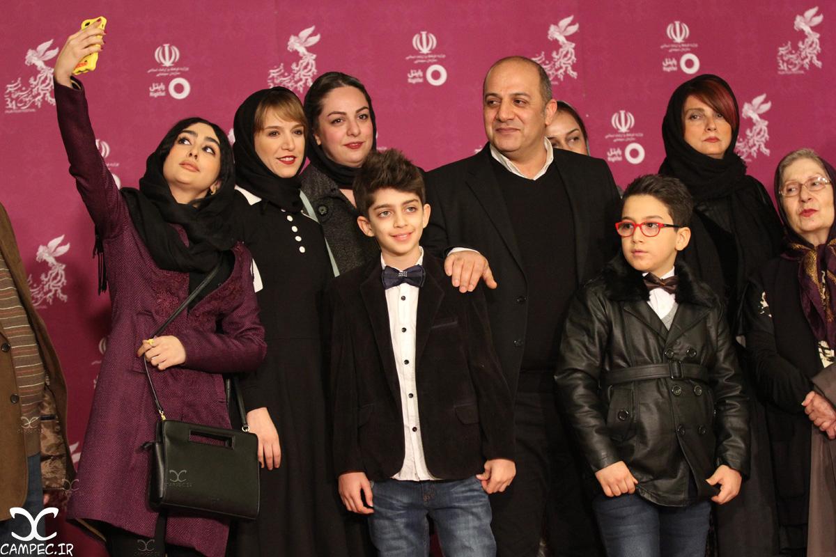 ستاره حسینی در جشنواره فیلم فجر
