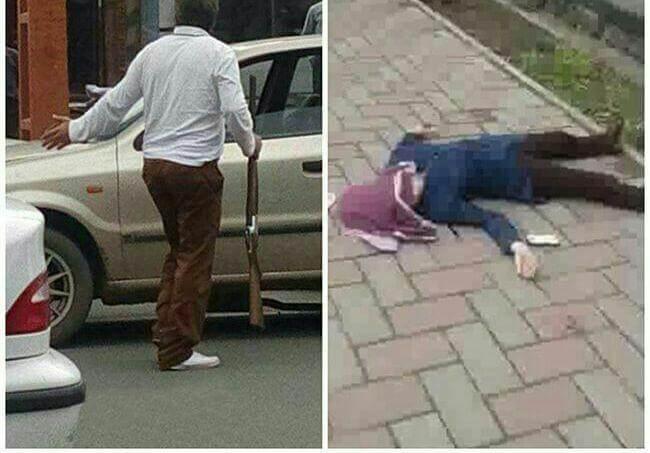 فیلم و عکس ماجرای کشتن دختر دانشجو توسط پدرش در خوی