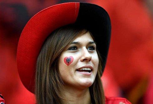 تصاویر دختران زیبا در یورو 2016 , فوتبال اروپا